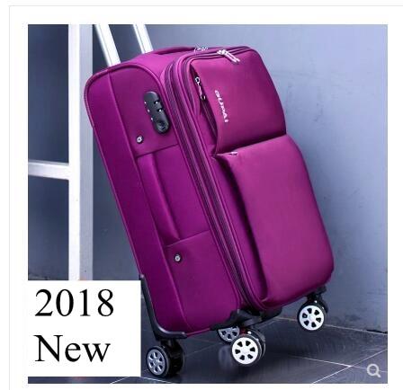 Bagaj ve Çantalar'ten Tekerlekli Bagaj'de Oxford Spinner bavul Seyahat Bagaj Bavul Erkekler Seyahat Haddeleme bagaj çantaları Tekerlekler Seyahat Tekerlekli Bavul tekerlekli çantalar'da  Grup 1