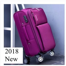 Oxford Spinner suitcases Travel Luggage Suitcase Men Travel Rolling lug