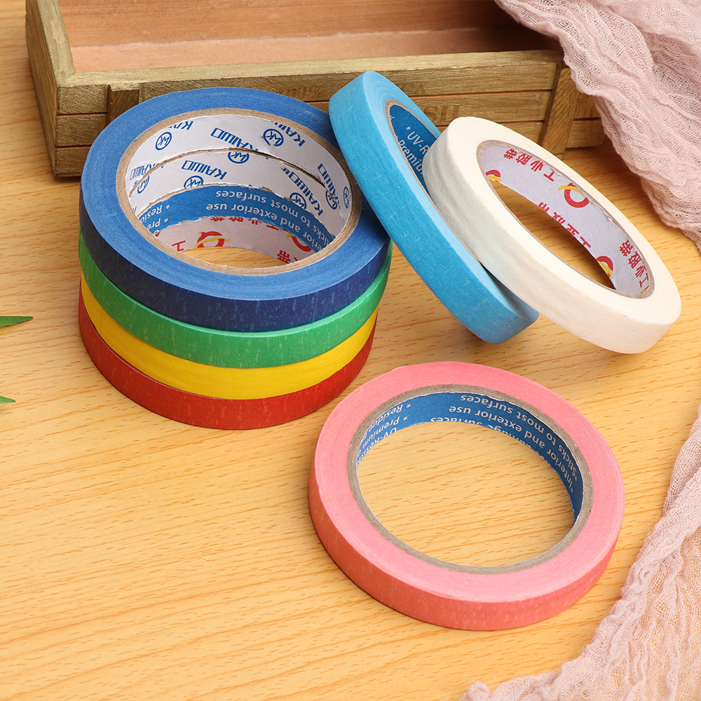 30M Colorful Painters Clean Peel Masking Tape 5/10/15mm Adhesive DIY Painting Paper Decor Craft General Purpose Car Sticker Tape