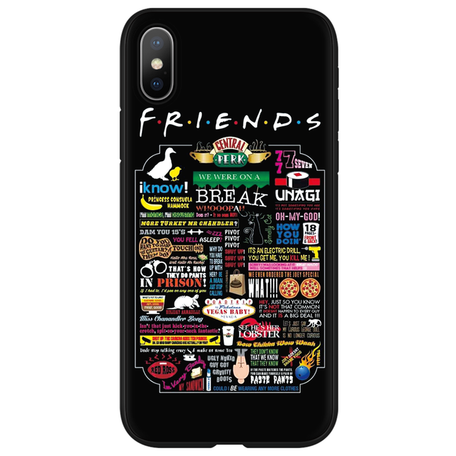 Central Perk Coffee friends tv show how you doin Soft TPU For iPhone X XS Max XR 5 SE 6 6S 7 8 Plus Case For iphone 11 Pro Max