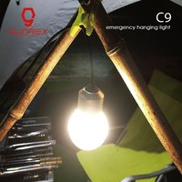Dimmable USB Camping Lantern USB Rechargeable Emergency Hanging Light Portable Night Light Super Bright