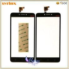 Seringas 3m fita sensor de toque digitador da tela vidro frontal touchscreen para alcatel pixi 4 plus power ot 5023 ot5023 5023e 5023f