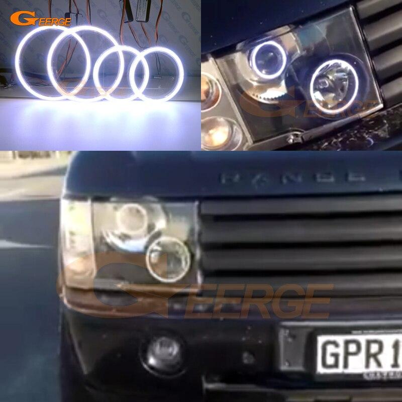 For Land Rover Range Rover 2003 2004 2005 Xenon Headlight Excellent Ultra bright illumination COB led