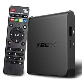 MX9 max TV Box Smart Android 8,1 caja de TV RK3328 Quad Core 4K VP9 H 265  HDR10 USB3 0 2GB /16 GB