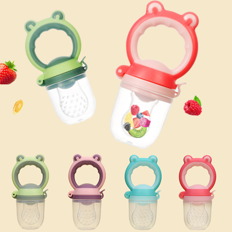 Baby Feeding Maker Fresh Food Fruit Vegetable Mills Dispenser Baby Pacifier Nipple Container Care Safety Tools Food Scissors