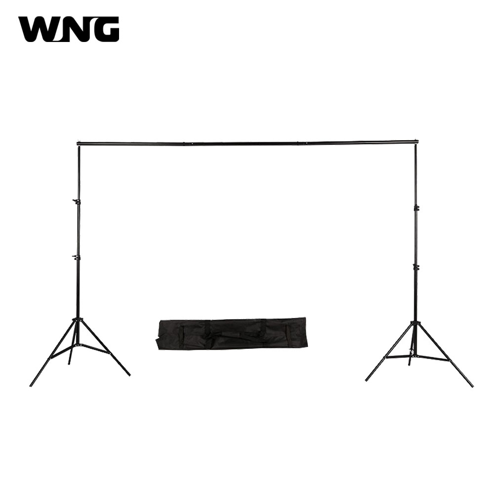2x3m 10ft Adjustable Photo Studio Backdrop Background Support Stand and Kit Photography Background Stand System Backdrop Kit lightdow 2x3m 6 6ftx9 8ft adjustable backdrop stand crossbar kit set photography background support system for muslins backdrops