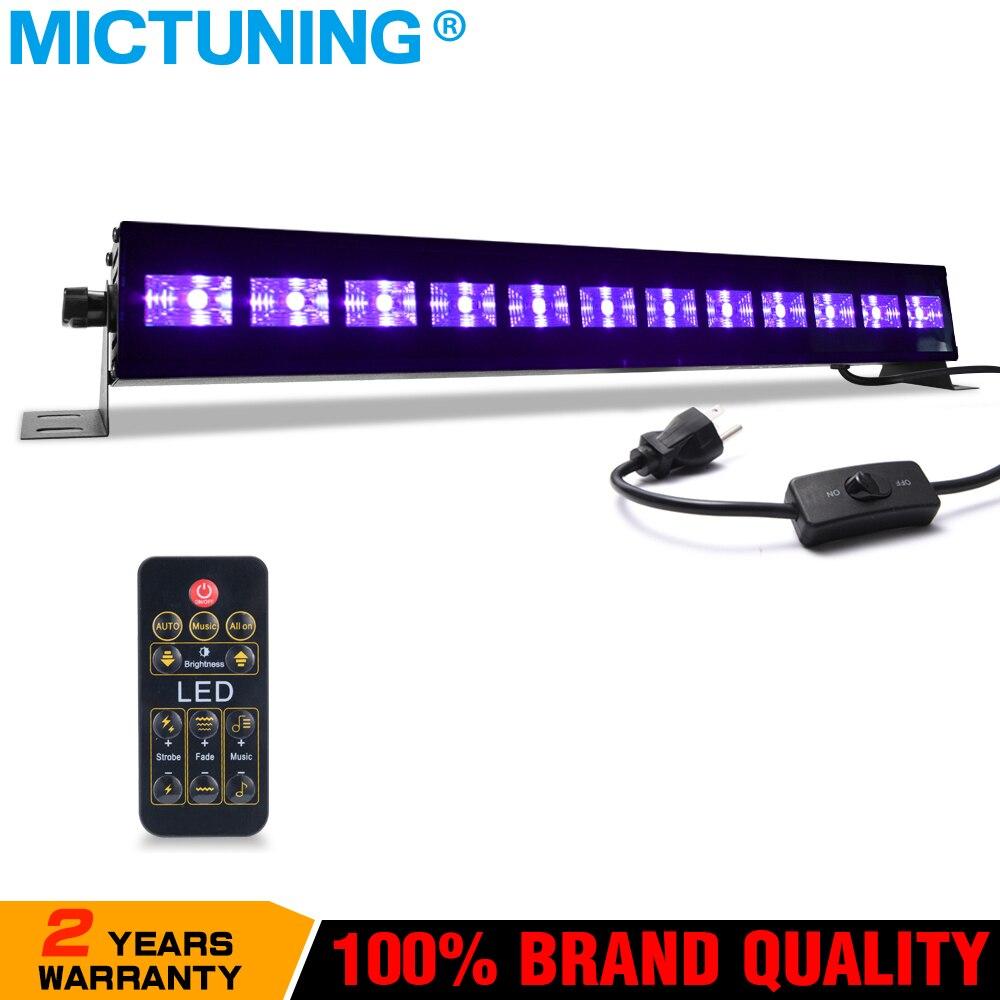 2b10af710f36c UV Luz Negra 36 w 12 Blacklight LED Efeito de Iluminação de Palco Luz de  Discoteca