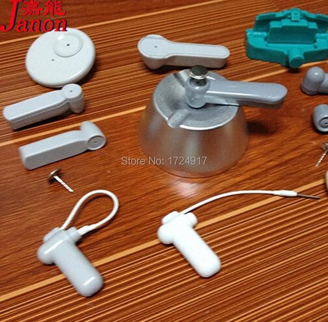 1pc 15000GS Universal Magnet EAS Security Golf Tag Remover+1pc Handheld Convenient Portable Mini Key Hook Detacher Free Shipping
