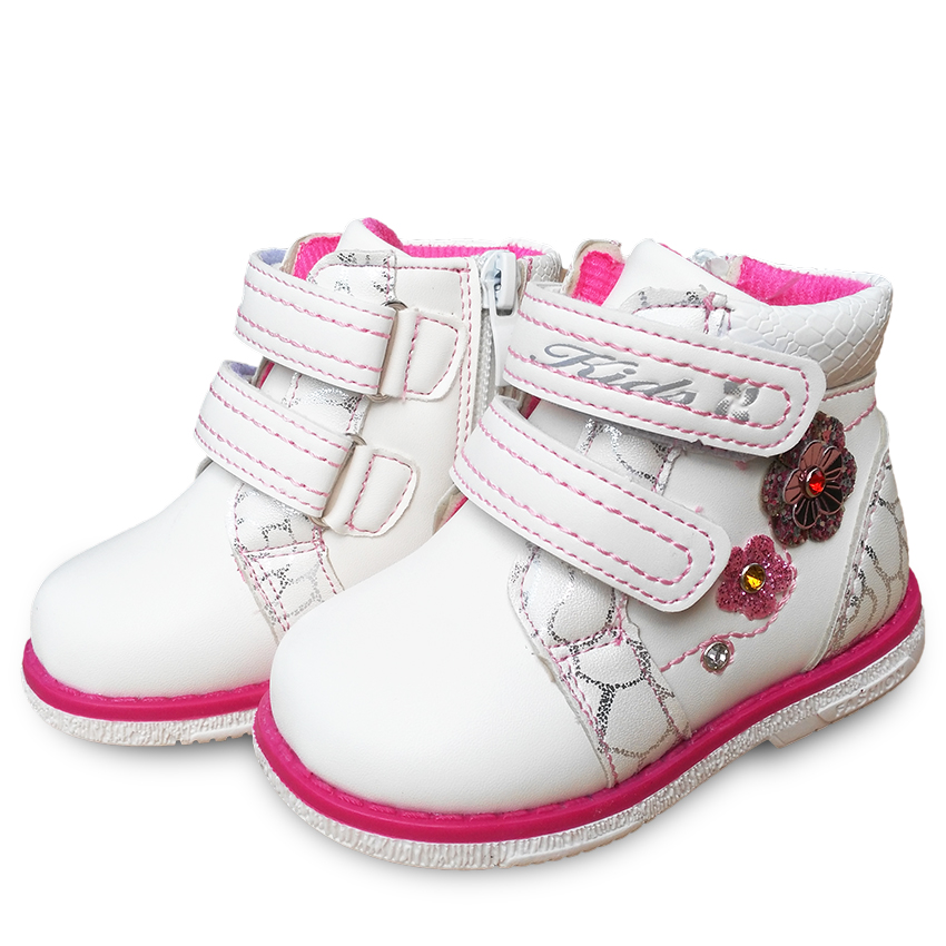 New 1pair Kids leather girl Fashion Children shoes ,Cute Shoes+inner 13.5-17 cm