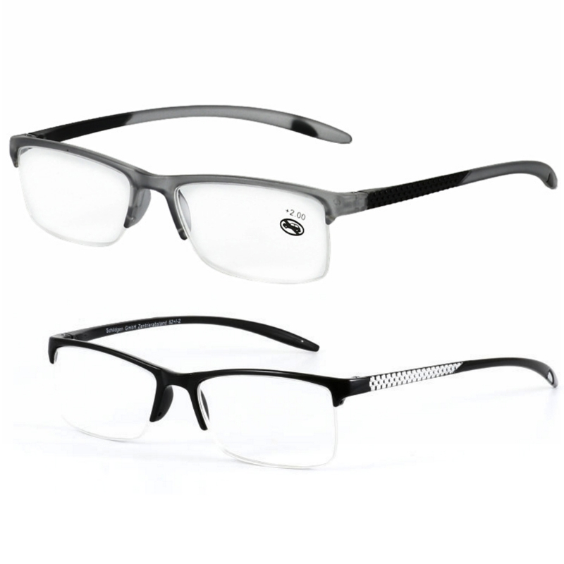Unisex Reading Glasses Presbyopic Eyeglasses Full Frame +100/+125/+<font><b>150</b></font>/+175/+<font><b>200</b></font>/+225/+250/+275/+300/+325/+350 Portabl image
