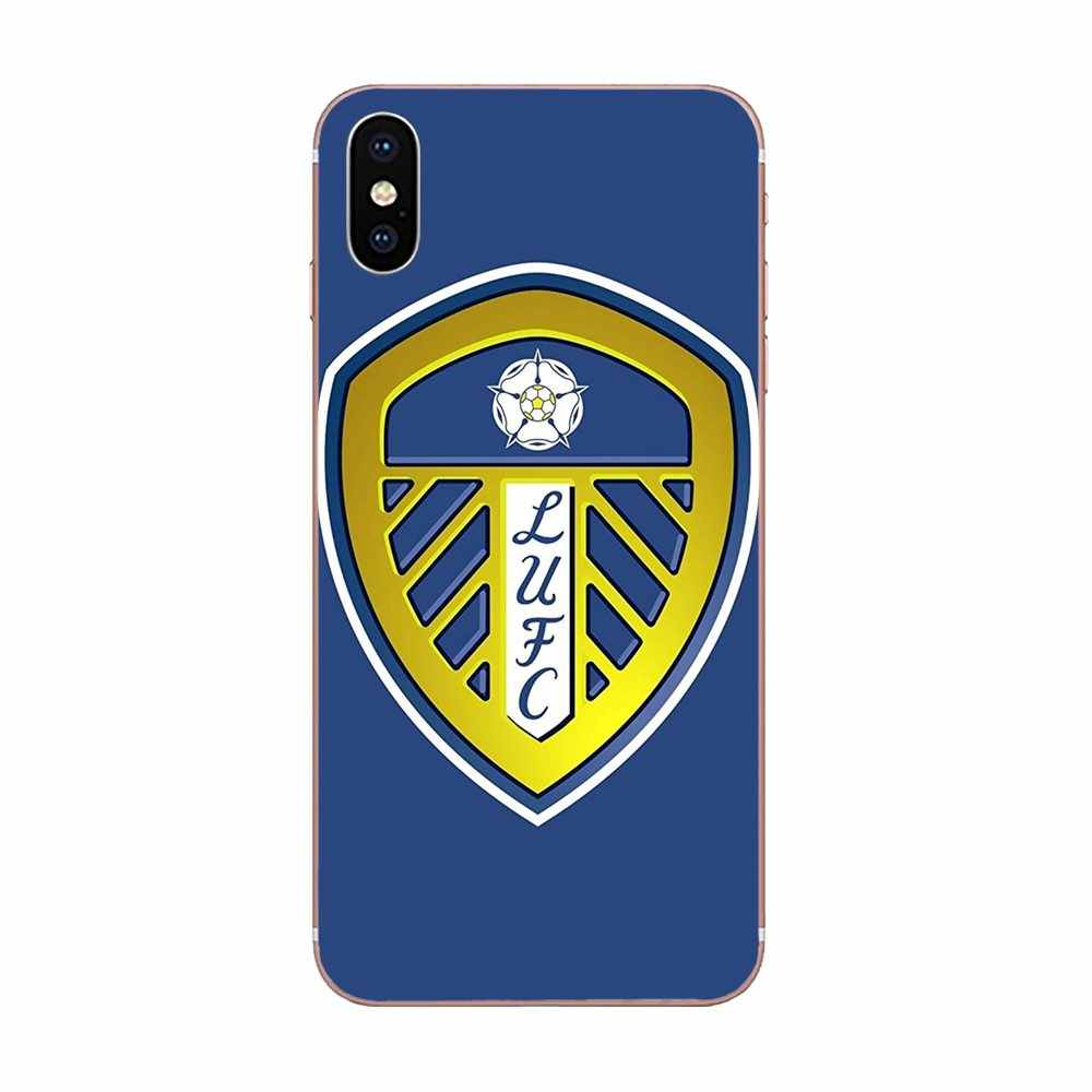 Logotipo Para Galaxy Alpha Nota 3 4 Leeds United 10 A10 A20 A20E A30 A40 A50 A60 A70 A80 A90 m10 M20 M30 M40 TPU Projeto