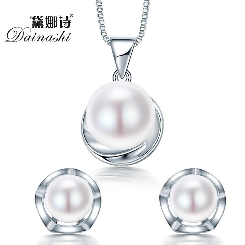 b50d40628059 Dainashi Caliente Sistemas de La Joyería de Plata Esterlina Colgante de  Collar y Aretes 100% ...