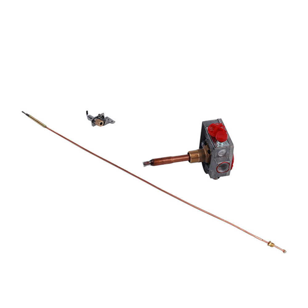 MENSI Gas Storage Tank Replacement Parts Thermostat Control Valve with Pilot Burner Thermocouple Assembly Kit