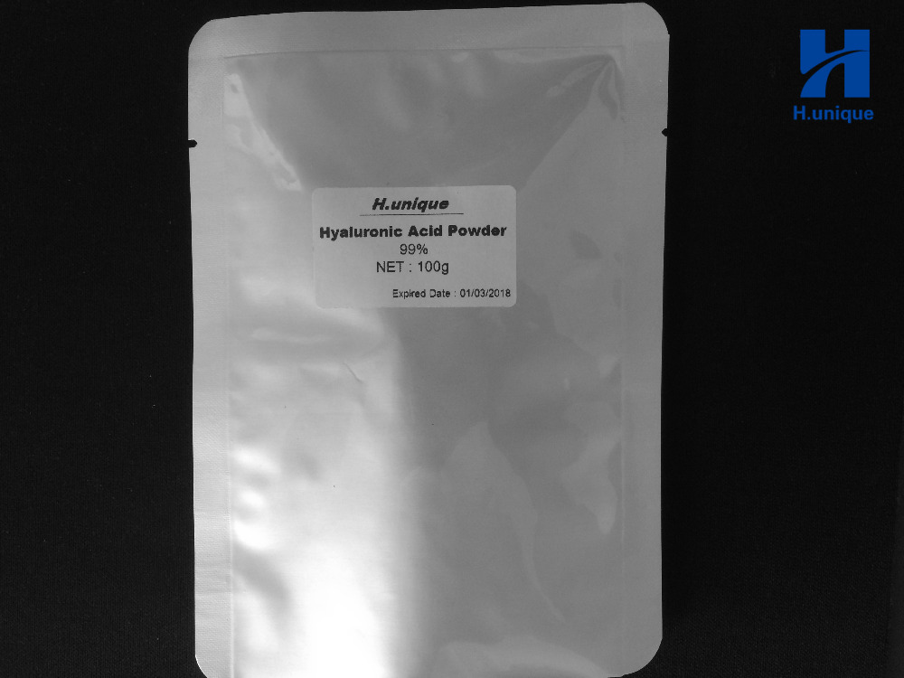 99% Cosmetic Hyaluronic Acid Powder Pure Hyaluronan Skin Anti Aging Wrinkle Joint Serum 100grams l arginine powder 99