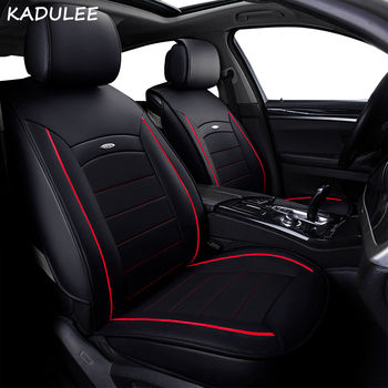 KADULEE pu leather car seat cover for daewoo matiz fiat 500x stilo opel vectra b c suzuki grand kia sportage  car accessories