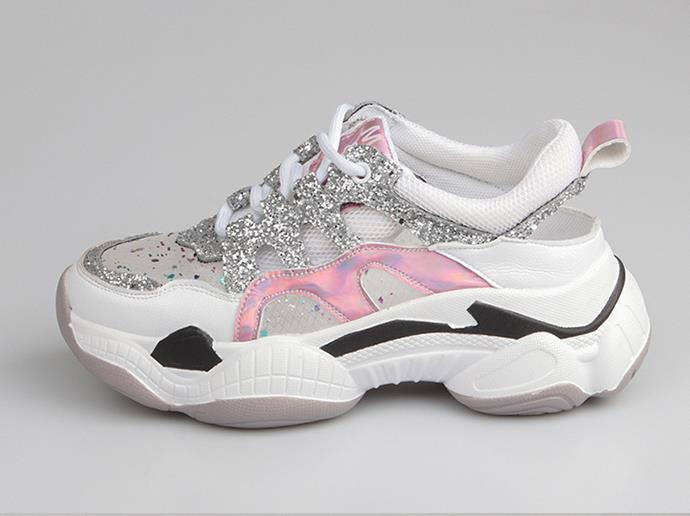 2019 mode mixte couleurs chaussures femmes baskets été tenis feminino dame fond épais augmentation comfortabe spadrilles
