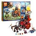 Free Shipping 675PCS LEPIN 14005 Nexo Knights Jestro's Evil Mobile Combination  Building Blocks Kits Toys Compatible 70316