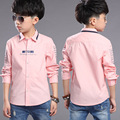 Roupas de Outono 2016 crianças blusas meninos camisas moda estilo de alta qualidade menino roupas A474