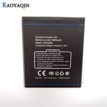 Batteries For Doogee DG 280 / DG280 Replacement Mobile Batteries 100% original brand Real Capacity 1800mAh high Quality battery