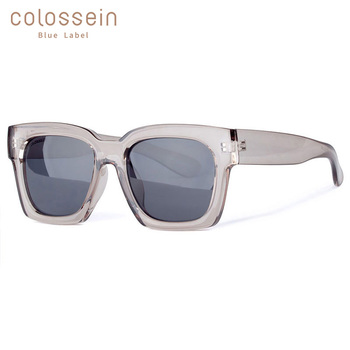COLOSSEIN نظارات الموضة النساء يحب كبير جدا ساحة إطار نظارات 2019 الصيف نظارات جديد الاتجاه للرجال lentes دي سول موهير