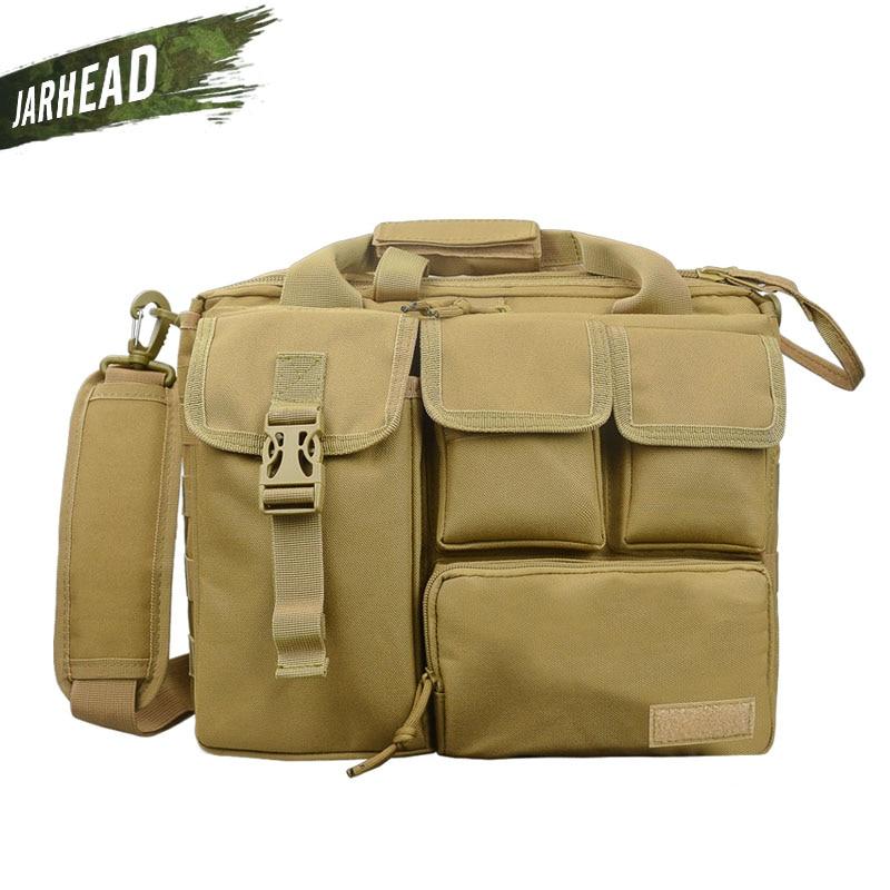 New Men Military Shoulder Laptop Bags Molle Outdoor Sport Rucksack Messenger Camera Mochila Tactical Computer Travel School Bag цена