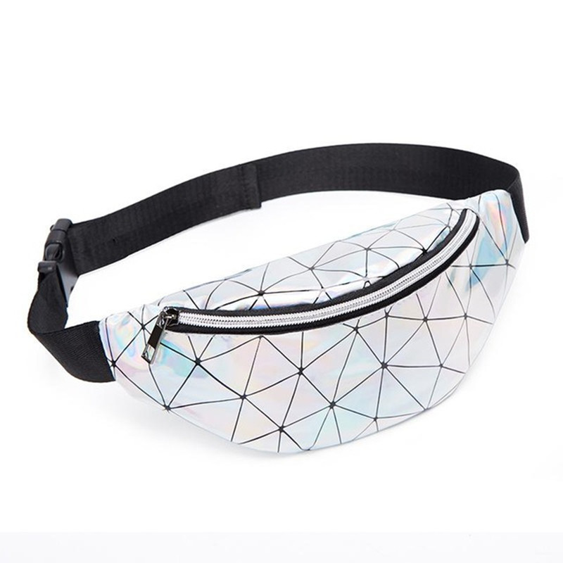 Handbags Laser Purse Fanny Pack Multi-function Leg Fashion Bag Reflective Laser Shoulder Bag Women's Belt Waist Bag Pochete