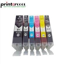 Einkshop 6pcs PGI-470 CLI-471 Ink Cartridge For Canon pixma MG5740 MG6840 mg7740 and full of ink цена 2017