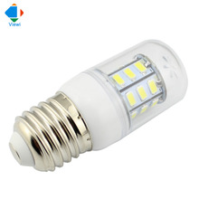 5X led light bulbs 12 volt E27 E12 E14 B22 GU10 G9 5W corn bulbs Smd5730 27leds 12v energy saving lighting warm white lampadas