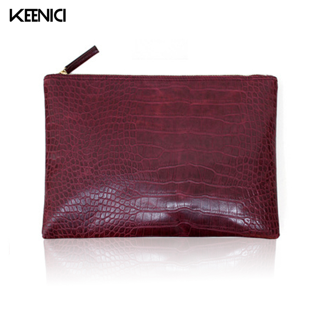 Envelope-Bag Clutch-Bag Classic Female Women's Lady Luxury PU Solid