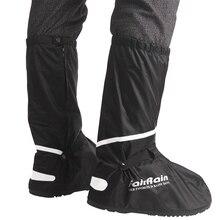 الجملة قابلة لإعادة الاستخدام غطاء الحذاء المضاد للماء عدم الانزلاق دراجة نارية الدراجات أغطية لحذاء المطر ملابس مقاومة للماء أحذية للرجال