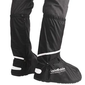Image 1 - 卸売再利用可能な防水靴カバーノンスリップオートバイサイクリング雨靴カバー防水の靴男性