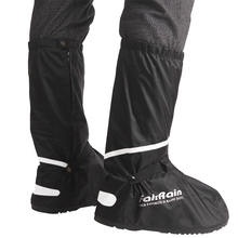 Venta al por mayor de cubiertas de zapatos impermeables reutilizables antideslizantes para motocicleta ciclismo Botas de lluvia Zapatos de desgaste impermeables para hombres