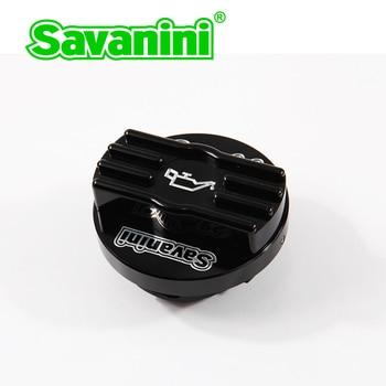 Savanini samochodów wysokiej jakości stopu aluminium oleju Cap dla VW Golft 7 GTI R i Audi S3 A3 Q5 nowy EA888 silnika. chroń swoją czapkę