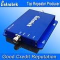 Lintratek Doble banda amplificador de Señal Del Repetidor GSM900 GSM1800 Señalización Boost Booster Amplificador Del Repetidor Del Teléfono Móvil 900 1800G/M²