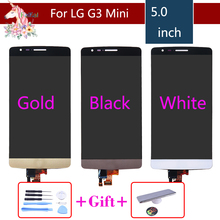 For LG G3S Display Digitizer Replacement Assembly Screen G3S D722 D724 Screen for LG G3 Mini LCD touch sensor assembly complete цены