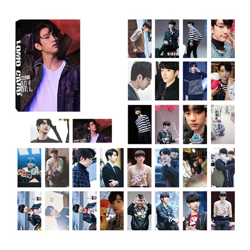 Reasonable Kpop Got7 Lullaby Jinyoung Jackson Jr Album Lomo Cards K-pop New Fashion Self Made Paper Photo Card Hd Photocard Jewelry Findings & Components