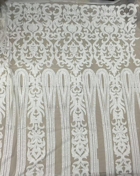 nice looking feather embroidery tulle mesh lace fabric Cyndi 10 1741 with good quality for party