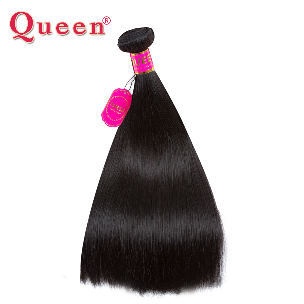 Queen Hair Products Malaysian Straight Hair Extensions Remy Hair Weave Human Hair Bundles Can Buy 3 or 4 Bundles With Closure