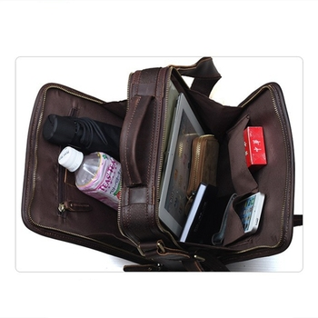 Crossbody Organizer Bag | 2018 Vertical Real Leather Handbags Top Quality Organizer Bag For Men Crazy Horse Leather Vintage Shoulder Crossbody Bag Bolsa