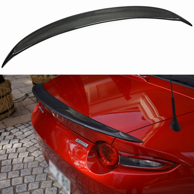Car-styling For <font><b>Mazda</b></font> <font><b>MX5</b></font> ND Miata Garage Vary Style Carbon Fiber Ducktail <font><b>Rear</b></font> <font><b>Spoiler</b></font> image