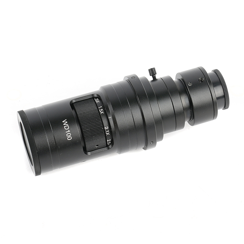 Image 4 - 200X 500X FHD 0.7X 5X Adjustable Magnification Continuously Variable C mount Zoom Lens For HDMI VGA USB Video Microscope Camera-in Lenses from Tools