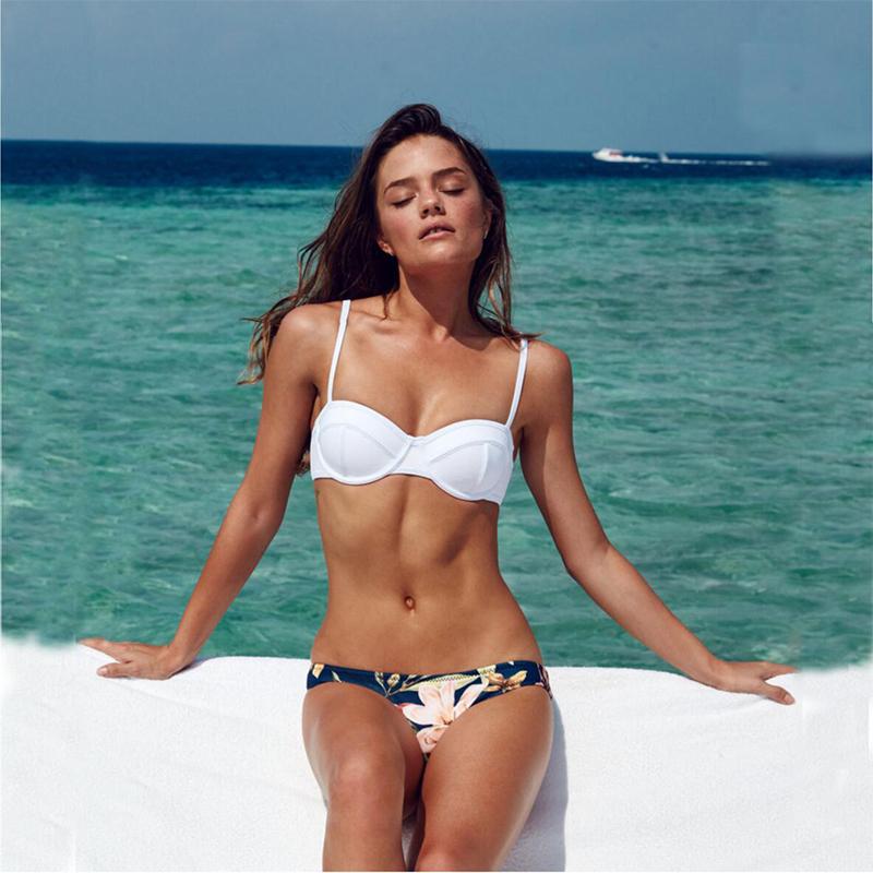 vendita calda 2016 donne costume da bagno qualit di stampa t reggiseno push up bikini biquini