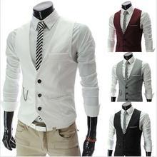 Gray Burgundy Mens Vests Slim Fit Waistcoats For Wedding Prom Dinner Best Man Suit Vest homem colete Custom Made chaleco hombre