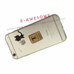 Image 4 - Gold 24K Sticker Healthy Anti Radiation Protector Shield For Mobile Phone/IPAD Sticker 1000 IONS  Lower Radiation 99.99SE%