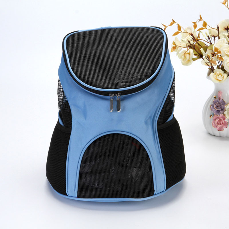 4 Colors Red Pet Dog Carriers Pet Cat Outdoor Travel Carrier Packbag Portable Zipper Mesh Backpack Breathable Dog Bags Supplies #5