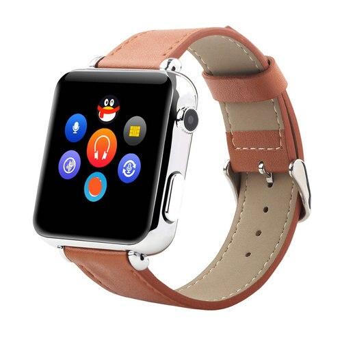 Original de cuero cinturón y6 pantalla 2.5d hd teléfono bluetooth smartwatches c