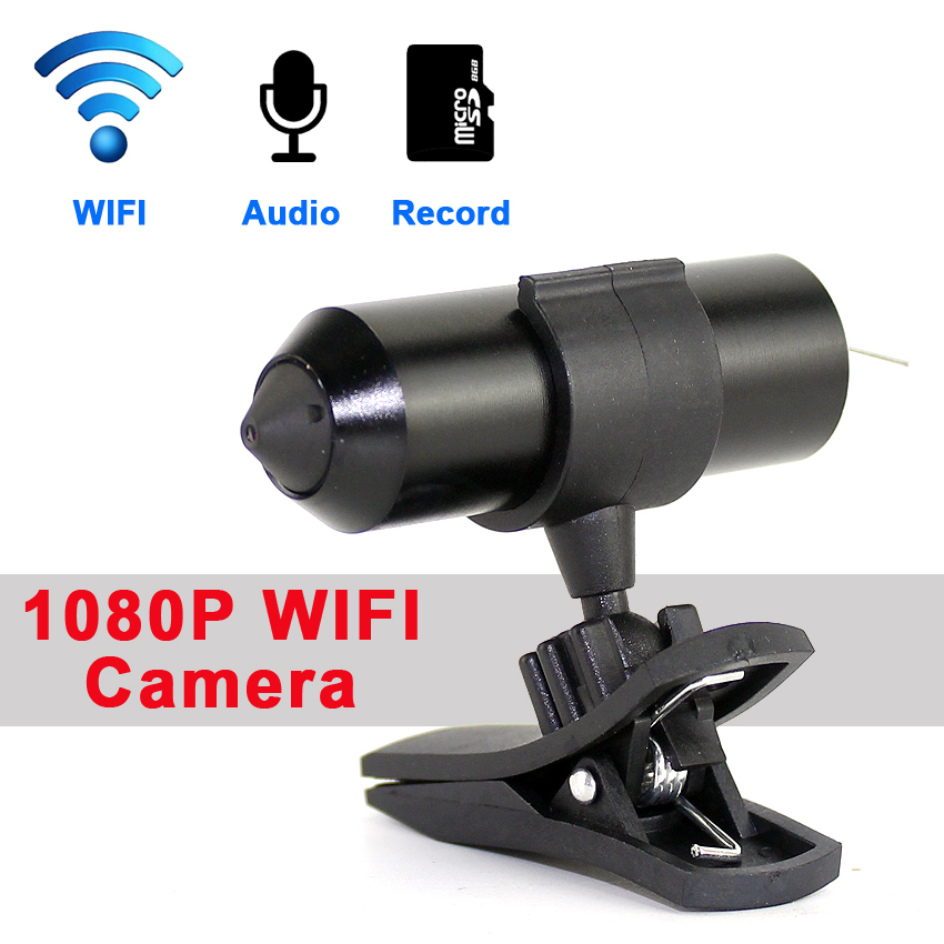 1080P Bullet Mini Wifi Camera H.264 3.7mm Lens Mini Peephole P2P TF Card record  wireless IP Camera1080P Bullet Mini Wifi Camera H.264 3.7mm Lens Mini Peephole P2P TF Card record  wireless IP Camera