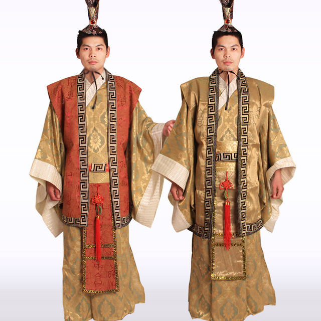 fe07619c0 Wholesale Ancient costume men's apparel costume Han Tang Dynasty official  clothing with a hat Halloween costume