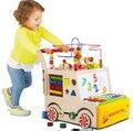 Multi-función de los niños caminantes bebé Carretilla niño ayude paso cesta bebé juguetes