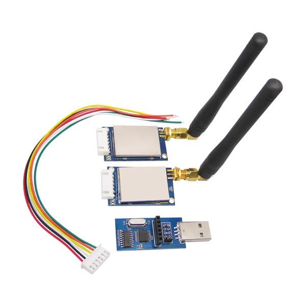 2pcs/lot rf module kit SV611 1km-1.4km 433MHz 470/868/915MHz 100mW TTL/RS232/RS485 Interface Wireless Transceiver RF Module